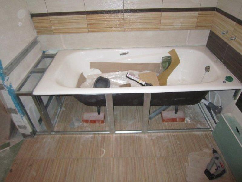 Фото ванны своими руками